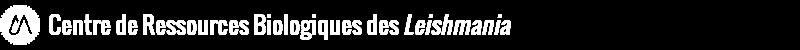 Centre de ressources biologiques des leishmania Logo